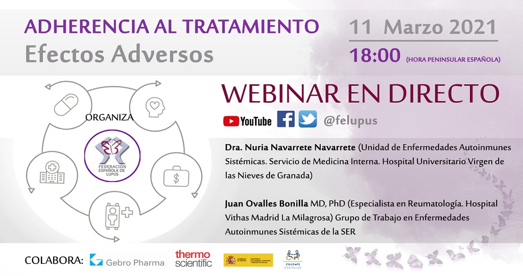 CARTEL Webinar Adherencia