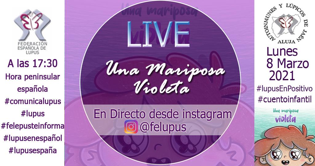 web LIVE Una Mariposa Violeta 08-03-2021 copia